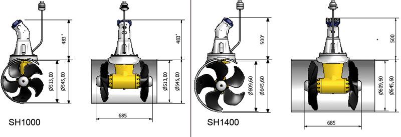 propulseurs d u2019 u00e9trave hydrauliques