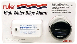 Bilge Pump Alarm High Water Alarm with Float Switch and Gauge 12 Volt