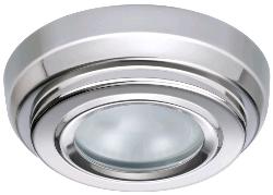 QUICK Marine Lightning LED Light BRYAN CS Polished Warm White IP40 with Switch