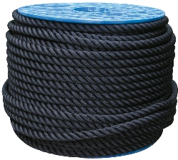 100M CORDAGE NOIR D=14 DBLE TORSION