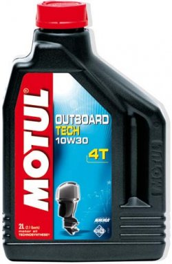 Engine Oil - Outboard Tech 4T SAE 10W30 - 2 L container | KENT