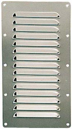 Grille de ventilation inox 232x127mm kent marine equipment - Grille de ventilation prix ...