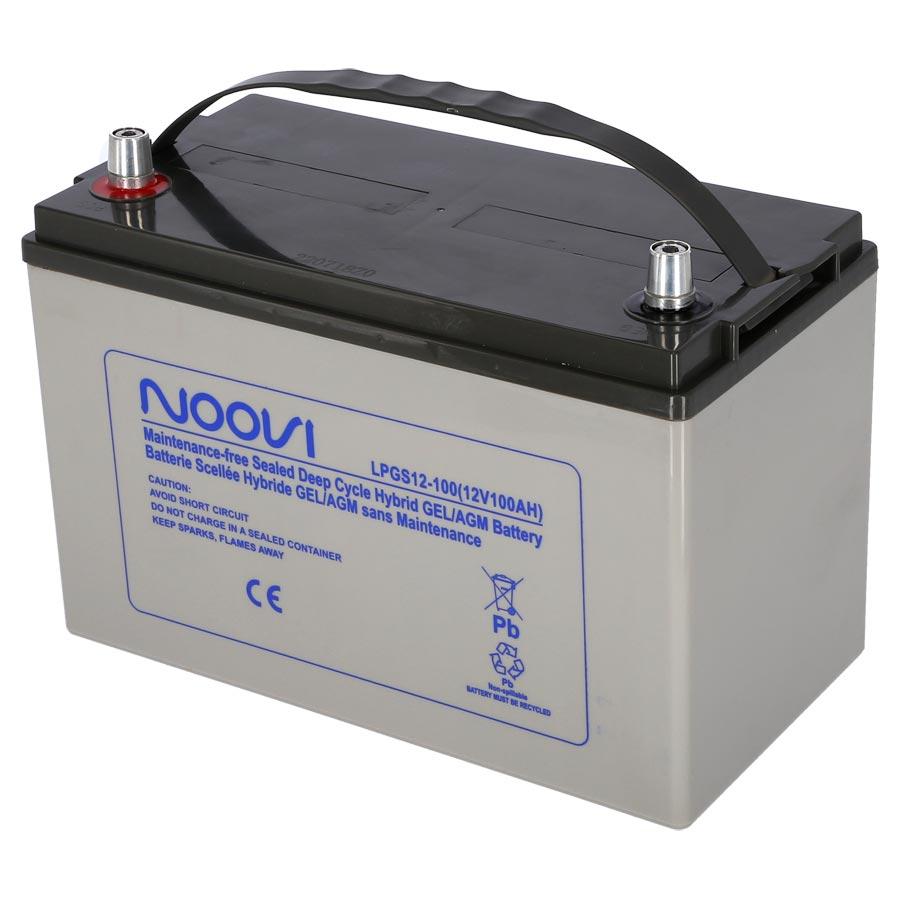 Hybrid GEL/AGM Battery - 12V 100Ah | KENT Marine Equipment