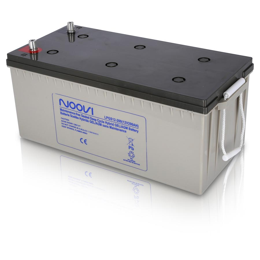 hybrid gel agm battery 12v 200ah kent marine equipment. Black Bedroom Furniture Sets. Home Design Ideas