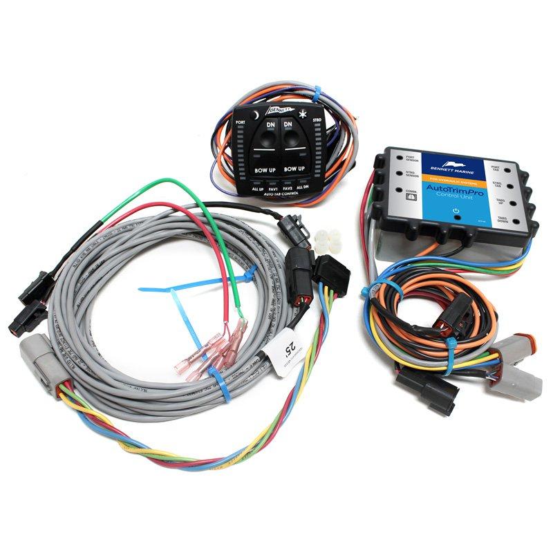 AutoTrim Pro - Electric kit - 12/24V | KENT Marine Equipment