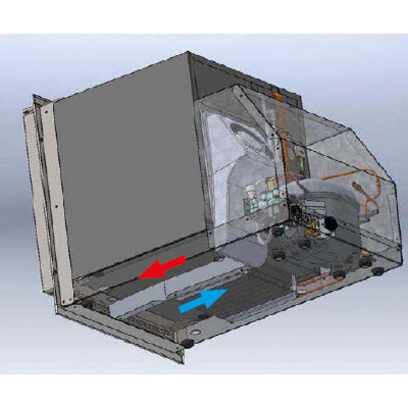 Ice Maker - Ice Drink White Low Profile - 230V 50Hz   KENT Marine ... 40fd97d70dde