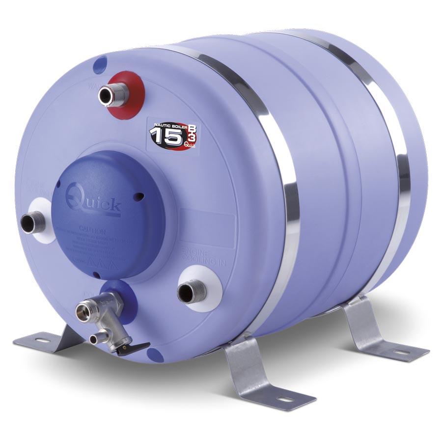 chauffe eau cylindrique 15l 12v 300w kent marine equipment. Black Bedroom Furniture Sets. Home Design Ideas