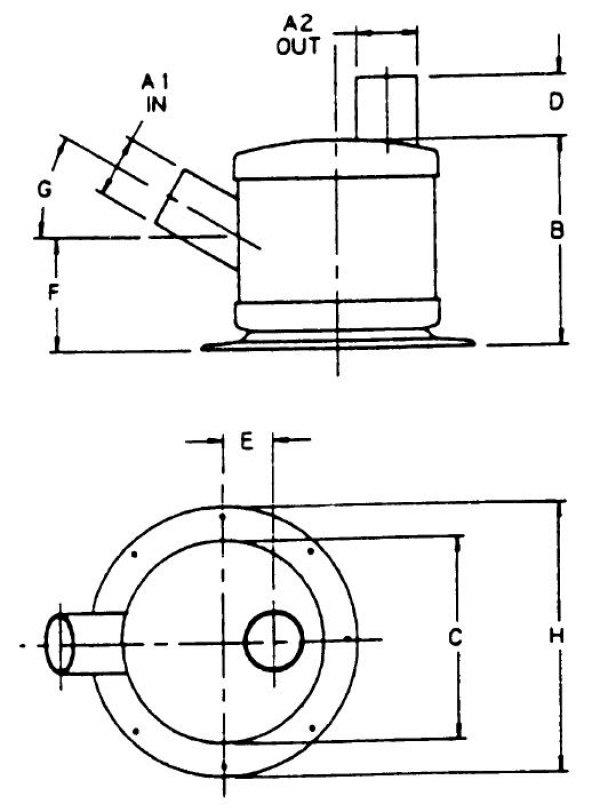 vernalift 5 u0026 39  u0026 39   127mm  angle in