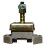 Shear loaded mounting with oil shield 136/308kg