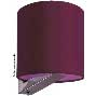 Halogen Wall Lamp - Sheila - 12/24V 20W - Bordeaux